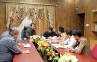 برگزاری جلسه ی شورای نامگذاری محلات در کمیسیون فرهنگی شهر مسجدسلیمان
