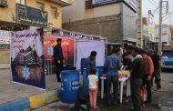 موکب الحسینی اربعین توسط شهرداری مسجدسلیمان برپا گردید