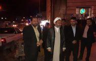 بازدید امام جمعه شهرستان به همراه شهردار مسجدسلیمان از بازار دستفروشان