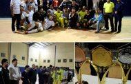 فینال مسابقات فوتسال کارکنان شهرداری مسجدسلیمان به مناسبت دهه فجر