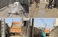 مسئول واحد عمران شهرداری مسجدسلیمان: آسفالت منطقه چاه نفتی در حال انجام است