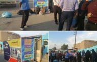 افتتاح غرفه های بازیافت زباله توسط شهرداری مسجدسلیمان