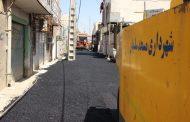 شهردار مسجدسلیمان: پروژه آسفالت چاه نفتی در حال انجام است