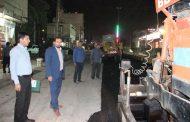 شهردار مسجدسلیمان: پروژه آسفالت میدان بانک ملی به سمت میدان نفت عملیاتی شده و ادامه دارد
