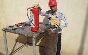 مسئول سازمان آتش نشانی شهرداری مسجدسلیمان: خدمات شارژ انواع کپسولها توسط سازمان آتش نشانی انجام می گردد