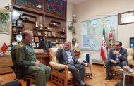 دیدار شهردار و اعضای شورای اسلامی شهر مسجدسلیمان با مدیران ارشد کشوری + تصاویر