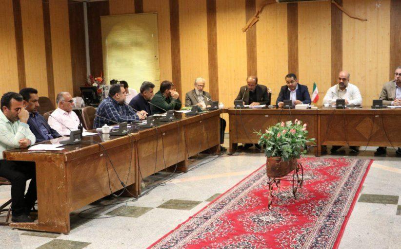 حضور شهردار مسجدسلیمان در جلسه هماهنگی برگزاری مراسم شب شهادت امام موسی کاظم ( ع)