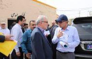 گزارش تصویری از حضور معاون سازمان برنامه و بودجه کشور و همراهی شهردار مسجدسلیمان