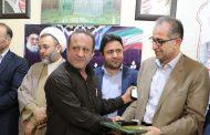 حضور شهام سلیمانی شهردار مسجدسلیمان در جلسه شورای فرهنگی شهرستان و بزرگداشت روز خبرنگار