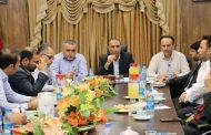 نشست اعضای شورای اسلامی شهر مسجدسلیمان با فرماندار، شهردار و مدیر عامل شرکت بهره برداری نفت و گاز