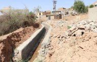 گزارش تصویری از احداث کانال فاضلاب شهری منطقه چهاربیشه