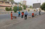 عملکرد دو ماهه واحد تنظیفات شهرداری مسجدسلیمان