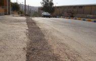 گزارش تصویری از زیرسازی ترمیم نوار حفاری روکش آسفالت خیابان شهید داریوش محمدی