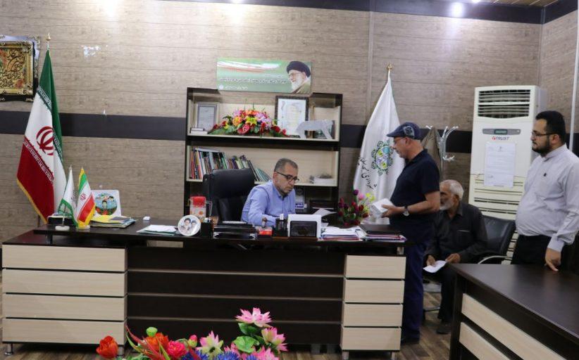 گزارش تصویری از مراجعات مردمی با شهردار مسجدسلیمان