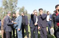 بازدید شهردار و نماینده مردم در مجلس مجلس شورای اسلامی از پروژه های شهرداری مسجدسلیمان