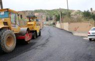 عملیات روکش آسفالت منطقه نمره چهل با مساحت تقریبی هفت هزار متر مربع ادامه دارد