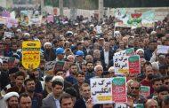حضور شهردار و اعضای شورای اسلامی شهر مسجدسلیمان در در راهپیمایی تماشایی ۲۲ بهمن ۹۷