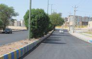 اجرای بهسازی آسفالت بلوار نفتک، روبروی فرمانداری با مساحت تقریبی ۱۰هزار متر مربع عملیاتی شد