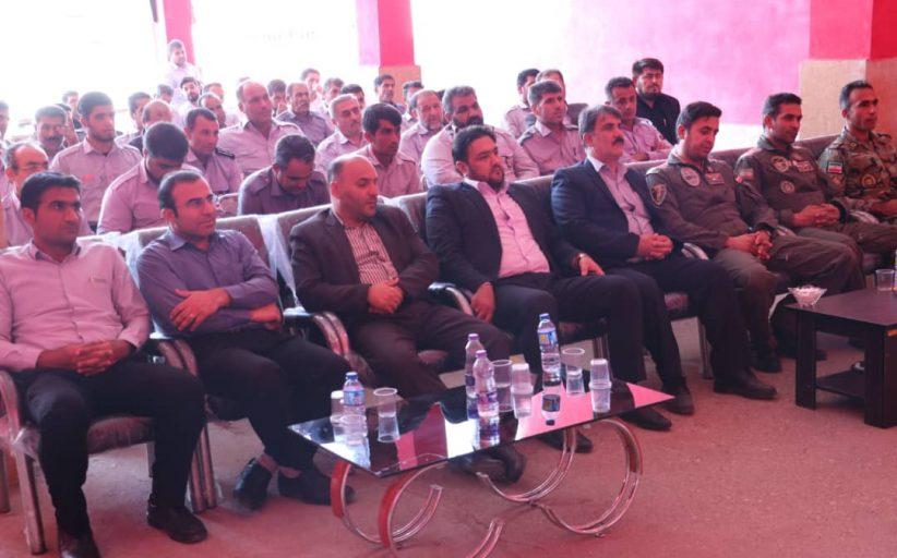 آیین گرامیداشت روز آتش نشانی و ایمنی توسط شهرداری مسجدسلیمان برگزار شد