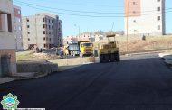 اجرای عملیات روکش آسفالت منطقه شهرک ولیعصر(عج) با مساحت تقریبی ۱۰٫۰۰۰ متر مربع