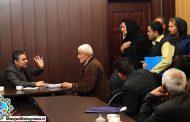 هم اکنون / ملاقات مردمی دکتر شعبانی شهردار مسجدسلیمان با شهروندان