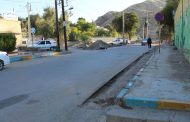 عملیات تعریض خیابان کوی نفتخیز توسط شهرداری مسجدسلیمان