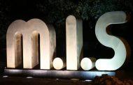 طراحی و اجرای المان شهری m.i.s توسط شهرداری مسجدسلیمان