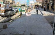 آغاز بهسازی و اصلاح کفپوش گذاری پیادهروهای خیابان آزادی، توسط شهرداری مسجدسلیمان