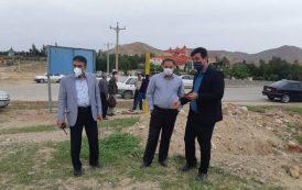 حضور و بازدید دکتر شعبانی شهردار مسجدسلیمان از کنترل مبادی ورودی شهر در روز سیزدهم فروردین
