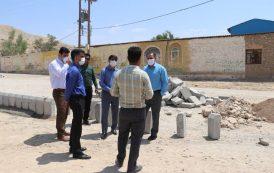 بازدید سرپرست شهرداری به همراه فرماندار و نایب رئیس شورای شهر مسجدسلیمان از روند اجرایی پروژه بلوار دوم شهری