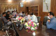 جلسه بررسی مشکلات حوزه آب و فاضلاب شهری برگزار گردید