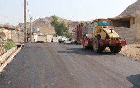 عملیات اجرایی زیرسازی و روکش آسفالت منطقه مالشنبه (کوی شهید لرستانی) انجام گردید ...