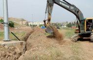 شروع فاز دوم پروژه پارک ۱۱ هکتاری ورودی شهر مسجدسلیمان
