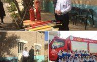 برگزاری کلاسهای ایمنی توسط روابط عمومی شهرداری و با همکاری سازمان آتشنشانی و خدمات ایمنی
