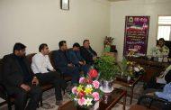 بمناسبت هفته ناجا، سرپرست شهرداری و اعضای شورای شهر مسجدسلیمان از فرمانده نیروی انتظامی دیدار کردند+تصاویر