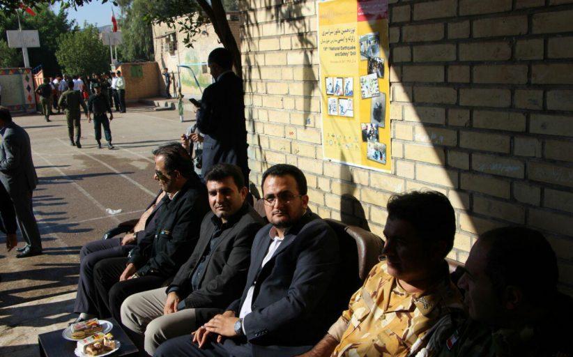 مانور زلزله سراسری و ایمنی در مدارس مسجدسلیمان برگزار شد+تصاویر
