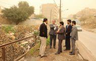 بازدید میدانی شهردار و اعضای شورای اسلامی شهر، جهت اجرای چند پروژه شهری