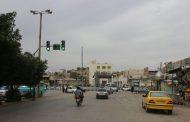 نصب چراغ راهنمایی در میدان نمره یک توسط شهرداری مسجدسلیمان