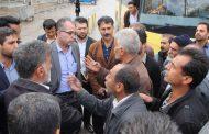 اولین بازدید میدانی شهردار مسجدسلیمان به همراه معاونین و مسئولین شهرداری از کلیه نقاط اصلی شهر+تصاویر