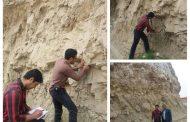 بازدید کارشناسان اداره کل زمین شناسی خوزستان از مناطق بحرانی مسجدسلیمان