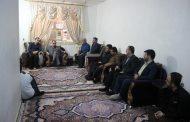 عیادت شهردار مسجدسلیمان از اعضای سانحه دیده شورای شهر