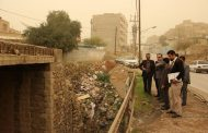 گزارش تصویری از احداث پل شهید داریوش محمدی توسط شهرداری مسجدسلیمان