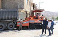 گزارش تصویری از فاز اول روکش آسفالت حدفاصل چهار راه بهداری تا پل هفده شهریور