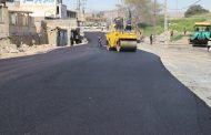 عملیات بهسازی و روکش آسفالت خیابان اصلی سه راهی سالور به بهره برداری رسید