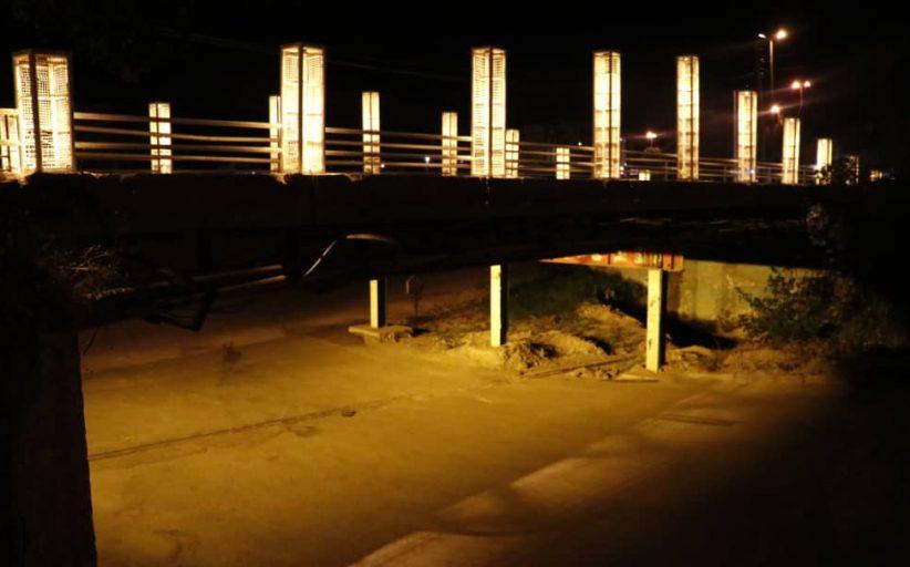 اتمام عملیات تعمیر، بازسازی و نصب نور پردازی پل دره اشکفت