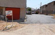 اجرای عملیات زیرسازی و آسفالت منطقه نفتک، با مساحت تقریبی ۴ هزار متر مربع توسط شهرداری مسجدسلیمان