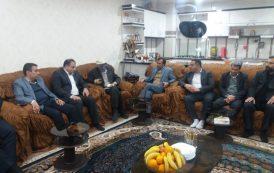 دیدار و عیادت دکتر شعبانی شهردار مسجدسلیمان از بهروز صالحی پیشکسوت عرصه رسانه