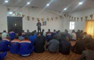 کلاس آموزشی پرسنل خدمات شهری شهرداری مسجدسلیمان با موضوع پیشگیری از ویروس کرونا برگزار شد