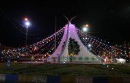 اجرای نورافشانی میادین و بازسازی تأمین روشنایی معابر عمومی توسط شهرداری مسجدسلیمان