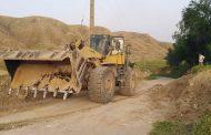 بازگشایی مسیرهای مسدود شده روز ۱۳ بدر توسط شهرداری مسجدسلیمان